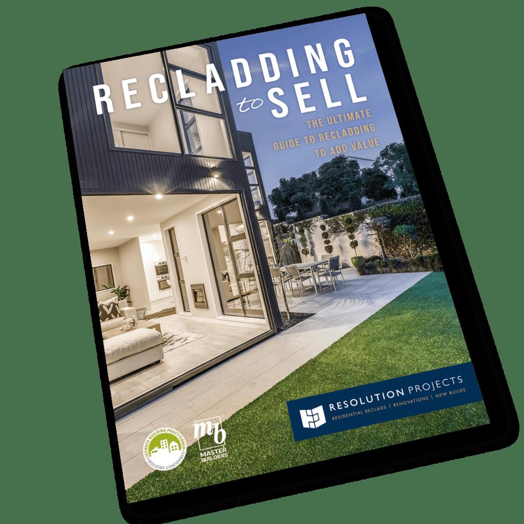 ResPro reclad for resale brochure cover3D